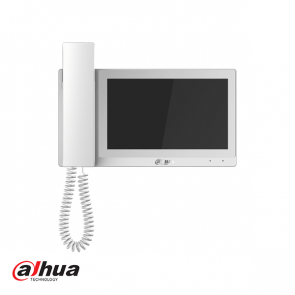"Dahua 7"" Handset IP Indoor Monitor Wit"