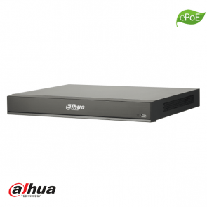 Dahua 8 kanaals 1U 8x PoE AI Network Video Recorder incl 2TB HDD