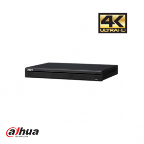 Dahua 8 kanaals 1U 8PoE 4K&H.265 Pro Network Video Recorder incl 2 TB HDD