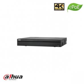 Dahua 32 Channel 1.5U 16PoE 4K, H.265 Pro ePoE NVR incl. 2TB