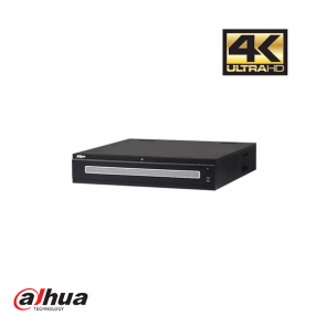 Dahua 128 kanalen 4K netwerk video recorder incl. 4 TB HDD