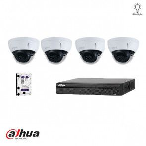 Dahua IP Full HD Starlight kit