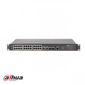 Dahua 24-port Managed Layer 2 PoE Switch 360W
