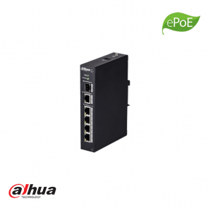 Dahua 4 poorten industrial switch ePoE