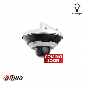 Dahua 8 x 2MP Multi-Sensor 360 graden Panoramic with 2 MP Integrared PTZ Camera