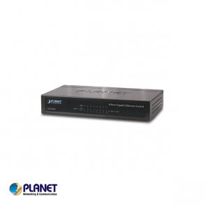 Planet 8 poort gigabit switch