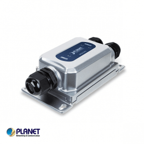 Planet Industrial 1-Port 802.3bt Ultra-PoE to 2-Port 802.3at Gigabit PoE Extender