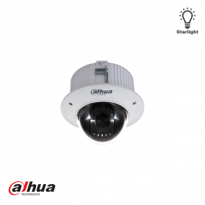 Dahua 2MP mini HD-CVI 12x zoom inbouw PTZ Dome Camera