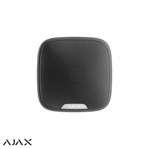 Ajax StreetSiren, zwart, draadloze buitensirene met LED
