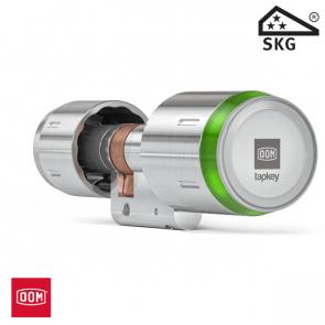 DOM TAPKEY BOX: incl. PRO dubbele cilinder glasdeurversie, 1-zijde gecontroleerd, 30/30
