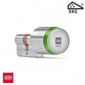 DOM TAPKEY BOX: incl. PRO dubbele cilinder zonder binnenknop, 1-zijde gecontroleerd, 30/30