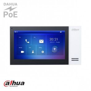 "Dahua 7"" TFT 1024x600 IP Intercom Monitor Wit"