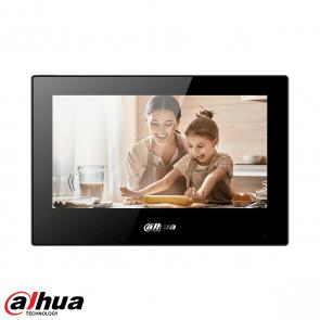 Dahua Android 7-inch digital indoor monitor  ZWART