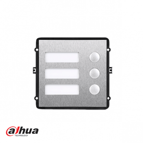 Dahua 3-button module