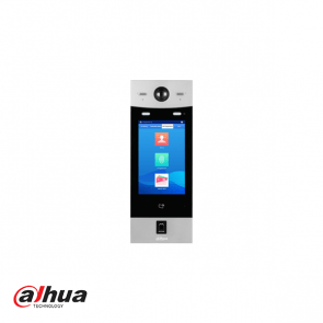 "Dahua IP video intercom appartment outdoorstation, 10"" touchscreen met gezichtsherkenning."