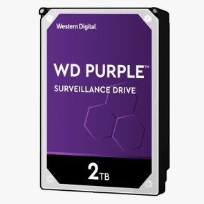 Western Digital 2 TB Purple HDD