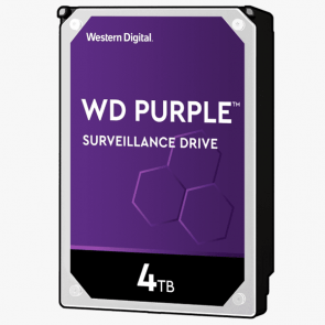 Western Digital 4 TB Purple HDD