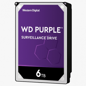 Western Digital 6 TB Purple HDD
