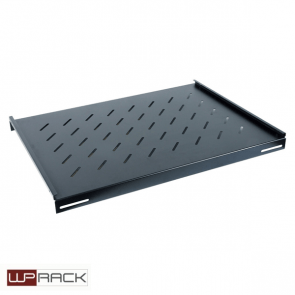 WP Fixed shelf 1U 350 mm Black