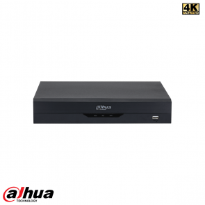 Dahua 8 Channel Penta-brid 4K-N/5MP Compact 1U WizSense NVR incl 2 TB HDD