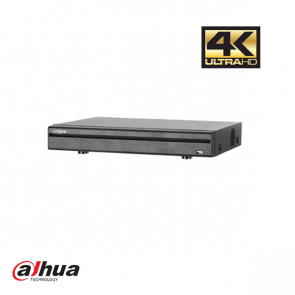 Dahua 8 Channel Penta-brid 4K Mini 1U Digital Video Recorder 8 PoC incl 2 TB HDD