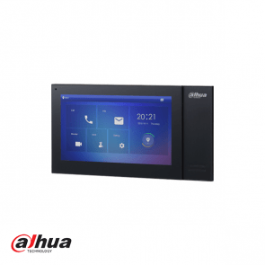 "Dahua 7"" TFT 1024x600 IP Intercom Monitor PoE Zwart"