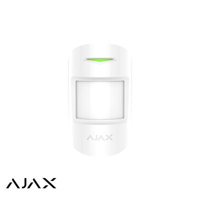 Ajax MotionProtect Plus, wit, draadloze PIR Radar