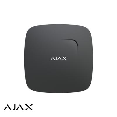 Ajax FireProtect Plus, zwart, draadloze optische rookmelder met CO melder