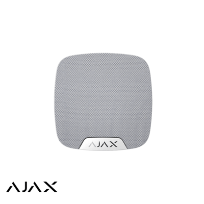 Ajax HomeSiren, wit, draadloze binnensirene