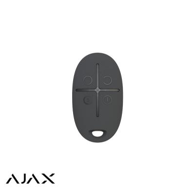 Ajax SpaceControl, zwart, draadloze afstandsbediening