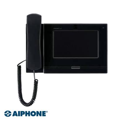 Aiphone 7 inch, Master station met hoorn, ZWART