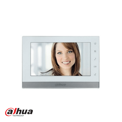 "Dahua 7"" intercom 2-wire binnenpost touch screen"