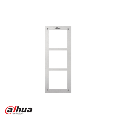 Dahua front panel voor 3 modules
