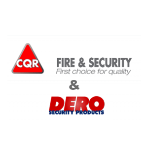Dero officieel distributeur van CQR Fire and Security