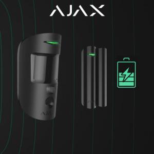 Bereken de levensduur van draadloze Ajax componenten